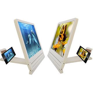 Mobile Phone Screen 3D Enlarge Magnifier