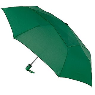 Stromberg Brand The Vented Mighty Mite Umbrella, Hunter Green, One Size