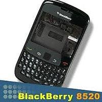 Blackberry 8520 Full Body - BLACK