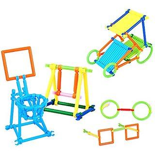 3D Puzzle Smart Stick Bars Creative Toys Different Shape Building set Stacking Blocks geometry toy bricks 118Pcs