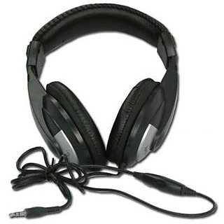 KINYO KY-2701 - Amazing digital stereo. Over the Ear headphones with volume control on extra long 6 ft cord. Compatible