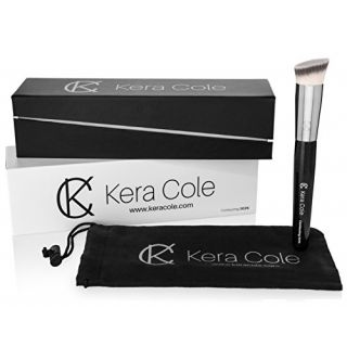 Kera Cole Premium Flat Angled Contouring Makeup Brush 202K - Experience the Ultimate in Face Sculpting and Contouring. U