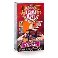 Cream Of The West All Natural 100% Whole-Grain Roasted 7-Grain Hot Cereal 18 Oz 3-Pack
