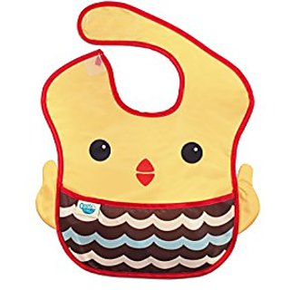 Oopsibaby Waterproof Feeding Bib, Betty the Bird