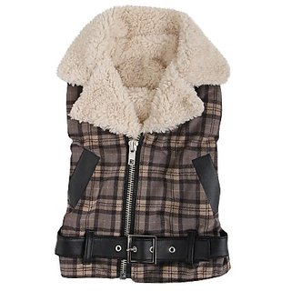 Puppia Barron Winter Dog Jacket, Medium, Grey