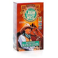 Cream Of The West All Natural Old-Fashioned Roasted Thick Oats Hot Cereal 18 Oz 3-Pack