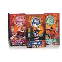 Cream Of The West All Natural 100% Whole-Grain Hot Cereal Variety Pack: Roasted Wheat (24 Oz); Roasted 7-Grain (18 Oz);