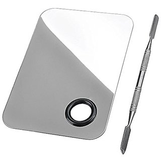 CCBeautyABC Pro Cosmetic Stainless Steel Makeup Spatula Palette Tool Set