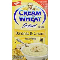 Cream Of Wheat Hot Cereal, Bananas And Cream, 12.3 Ounce
