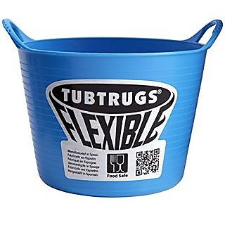 Tubtrugs SPMICBL Flexible Blue Micro .37 Liter/12.5 Ounce Capacity