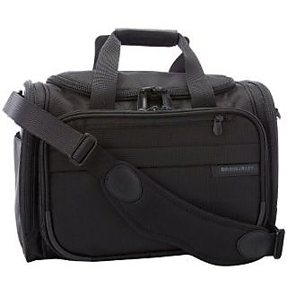 Briggs & Riley Baseline Deluxe Travel Tote,Black,10.5x16.5x11.5