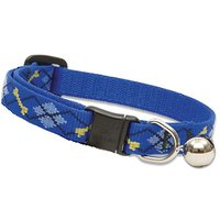"LupinePet Originals 1/2"" Dapper Dog Cat Safety Collar With Bell , 8-12"""