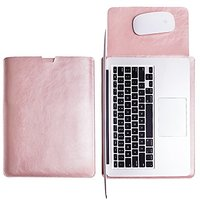WALNEW Sleek Leather MacBook Air 13 Inch Protective Soft Sleeve Case Cover Macbook Pro Retina 13 Inch Carry Bag Holder W