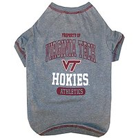 Pets First Collegiate Virginia Tech Dog Tee Shirt, Small