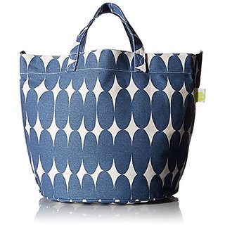 See Design Pod Circle Tote, Blue, One Size