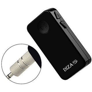 Bluetooth Receiver for Car, DIZA100 Portable Mini Bluetooth 4.1 Stereo Receiver A2DP Wireless Audio Music Streaming Adap