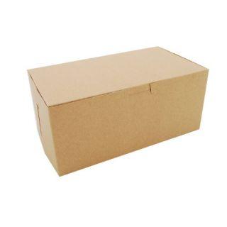 Southern Champion Tray 0949K Kraft Paperboard Non Window Lock Corner Bakery Box, 9