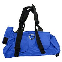 Kruuse Buster Comfort Nylon Pet Transport Bag, 8-12 Lb, Blue