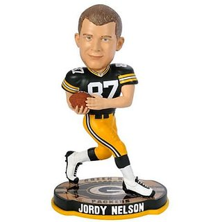 Jordy Nelson Green Bay Packers Bobblehead 2012