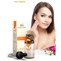 Highly Natural 20% Vitamin C Serum For Your Face Including Vitamin E - Ferulic Hyaluronic And Amino Acid Anti Aging Anti