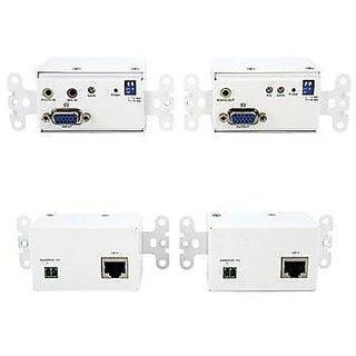 StarTech.com STUTPWALLA VGA Wall Plate Video Extender over Cat5 with Audio