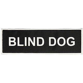 Blind Dog Medium nylon velcro patches by Dean & Tyler.
