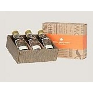 Crown Maple Organic Petite Trio Syrups in Royal Treatment Box, 3 Count