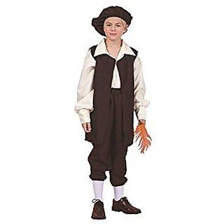 The Renaissance Boy Vest Costume Medium(8-10)