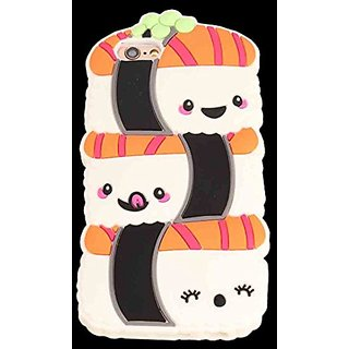 iPhone 6/6S Cartoon Case, OMORRO Newest Vivid Cute Smile Sushi Cool Awesome Anti-Scratch Ultralight Slim Soft Silicon Pr