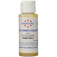 Americolor Flo Coat Food Color, 0.65-Ounce, Clear
