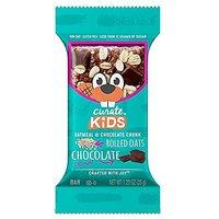 Curate Kids Gluten-Free Snack Bars, Oatmeal & Chocolate Chunk, 20 Count, 1.23 Oz