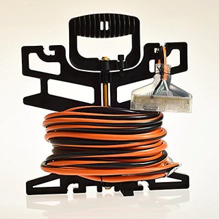 12/3 3 Outlet Extension Cord - 50 Feet Extra Heavy Duty Indoor/Outdoor Industrial Quality 12 Gauge Electrical Extension