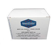 Americolor Soft Gel Paste Food Color, Set Of 12