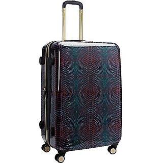 Aimee Kestenberg Ivy 28 Inch Upright Suitcase, Midnight Python