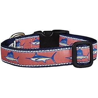 Up Country Saltwater Fish Dog Collar - Medium