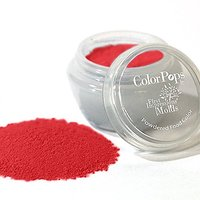 ColorPops By First Impressions Molds Matte Red 5 Edible Powder Food Color For Cake Decorating, Baking, And Gumpaste Flow