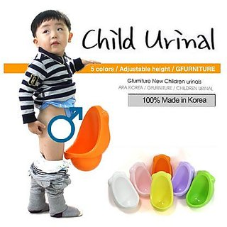 IHS New Potty Pee Training Toilet For Boy--orange