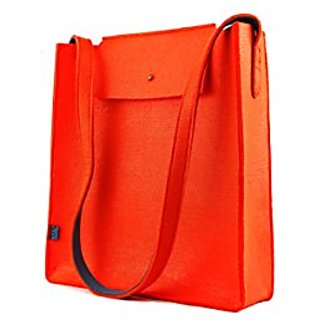 M.R.K.T. Parker 142960B Messenger Bags, Sweet Tangerine/Lake Blue, One Size