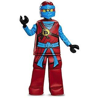 Disguise Nya Prestige Ninjago LEGO Costume, Small/4-6X