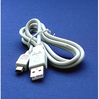 Canon PowerShot A1300 Digital Camera Compatible USB 2.0 Cable Cord - IFC-400PCU & IFC-300PCU Model - 2.5 feet White - Ba