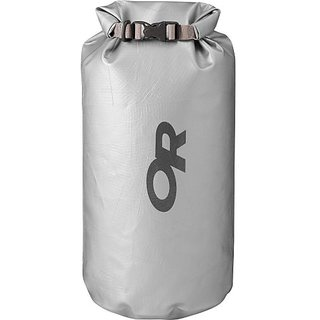 Outdoor Research Duct Tape Dry Bag, 25-Liter, Silver