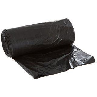 Aluf Plastics RCM-3858X Coex + Microban Low Density Blend Star Seal Bag on Coreless Roll, 55-60 Gallon Capacity, 58