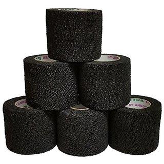 Coflex Cohesive Bandage Black 2 x 5YD (6 Roll Pack)