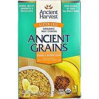 Ancient Harvest Organic Gluten Free Ancient Grain Hot Cereal, Banana & Brown Sugar, 10.58 Ounce