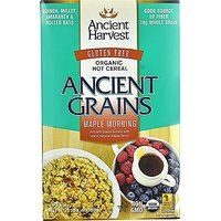 Ancient Harvest Organic Gluten Free Ancient Grain Hot Cereal, Maple Morning, 10.58 Oz (Pack Of 8)