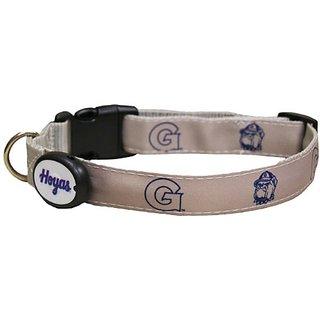 Dog-E-Glow Georgetown Univerisity Hoyas Lighted LED Dog Collar, Medium, 10-Inch by 15-Inch