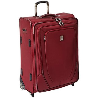Travelpro Crew 10 26 Inch Expandable Rollaboard Suiter, Merlot, One Size