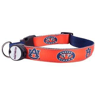 Dog-E-Glow Auburn University Tigers Lighted LED Dog Collar, Medium, 10-Inch by 15-Inch