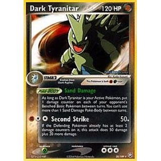 Pokemon - Dark Tyranitar (20) - EX Team Rocket Returns