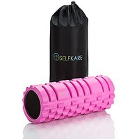 Massage Foam Roller - 13 Inches - High Density, High Quality, Extra Firm, Sturdy Solid Core, Best Roller For IT Band, Ba